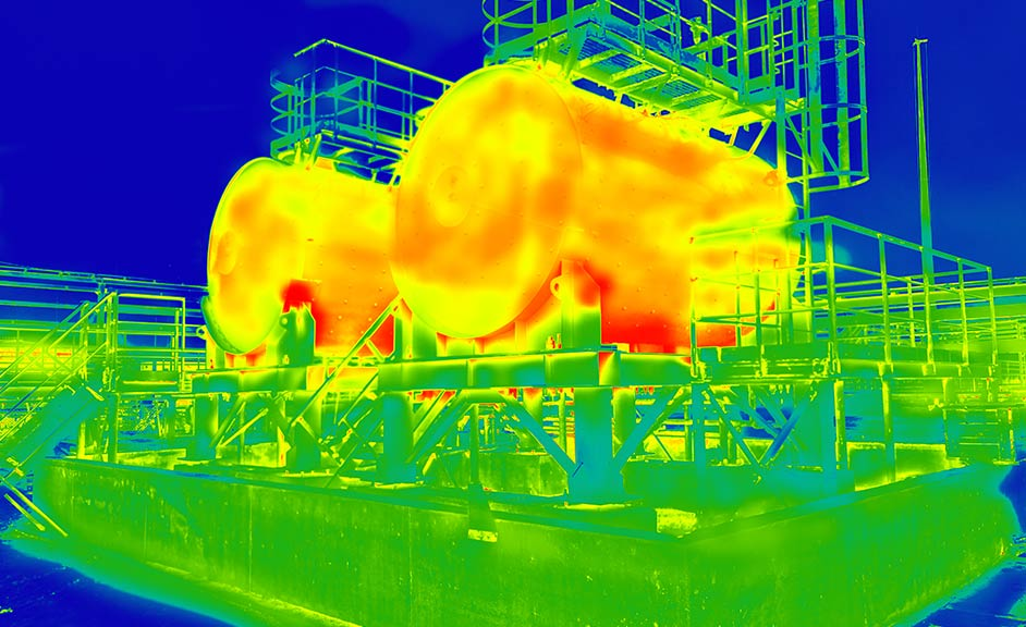 Thermal Image Surveys & Surveying from Assets55