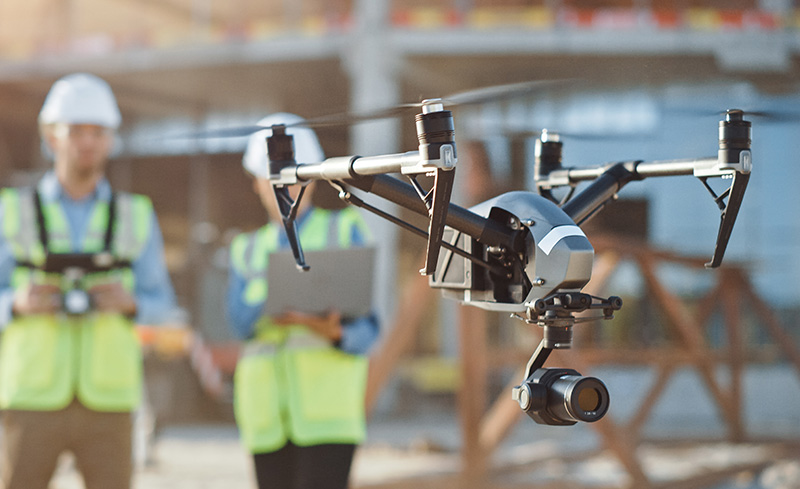 Aerial Drone Surveying At Height from Assets55